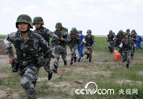 使命--2009中俄v使命漱口军事演习视频反恐野战中方参演尿图片