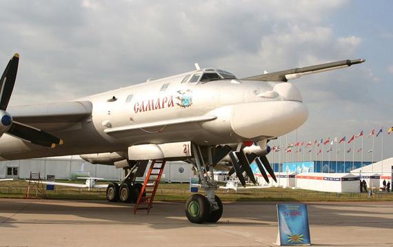 图-95MS飞机留空时间的新纪录,大约为40个小时,比此前的纪录多了4个小时。轰炸机飞行约3万公里
